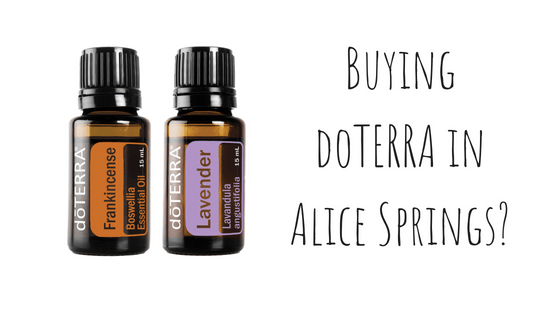 Where to buy doTERRA in Alice Springs? - Hidden Valley Co