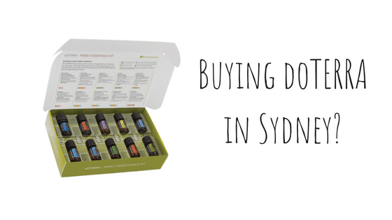Where to buy doTERRA in Sydney? - Hidden Valley Co
