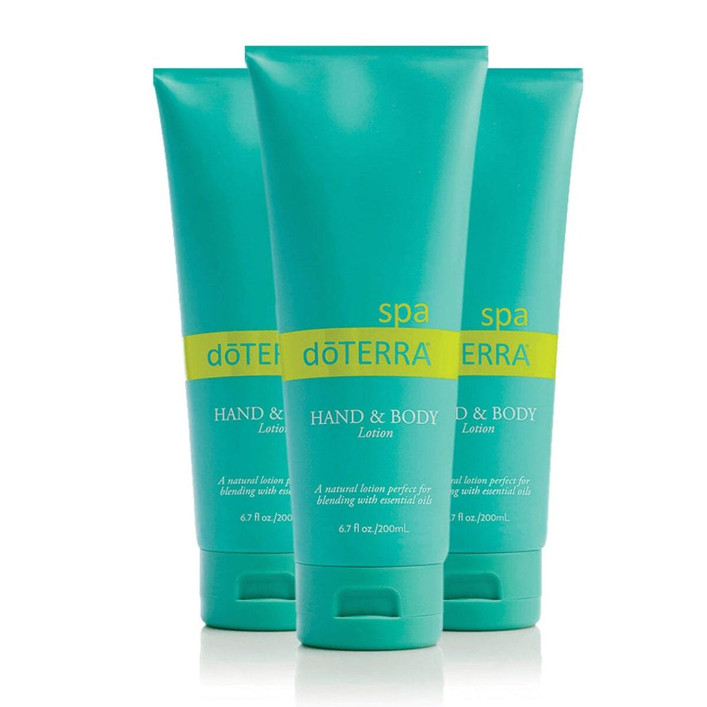 doterra hand and body lotion 3 pack