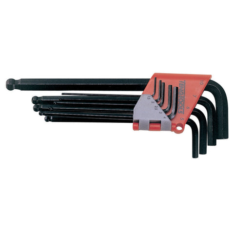 9PC Metric Ball Point Hex Key Set