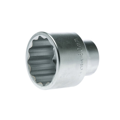 1'' Drive Metric 12 Point Socket 60mm