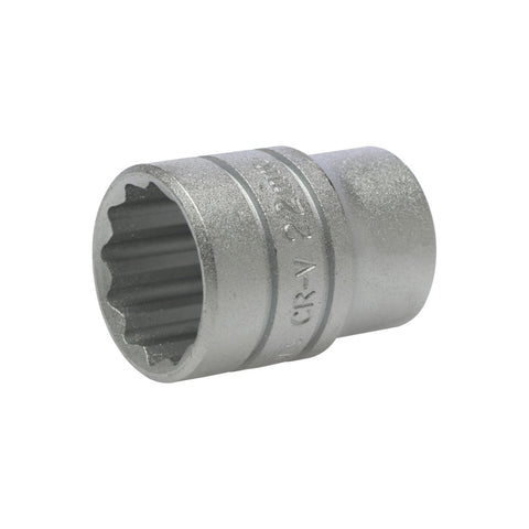 1/2inch Drive 12 Point Socket 22mm
