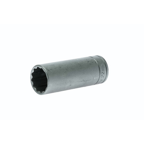 1/2inch Drive 12 Point Deep Socket 22mm