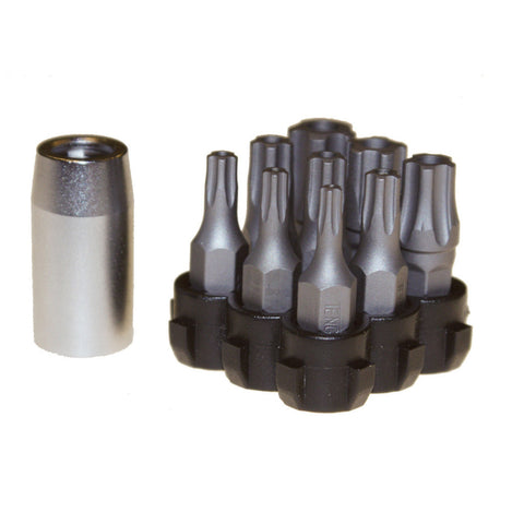 "10PC 1/4"" Drive Tpx Bits Set 5 Wing"
