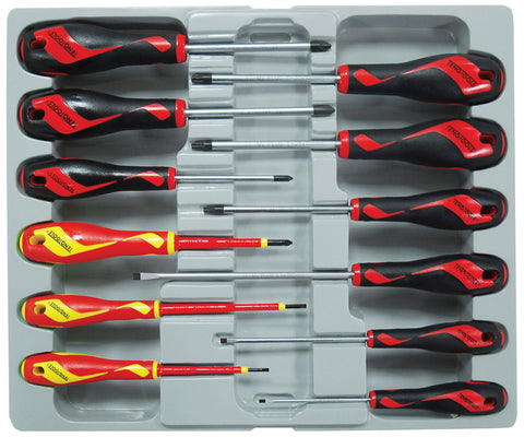 12PC Screwdriver Set Including Insulated