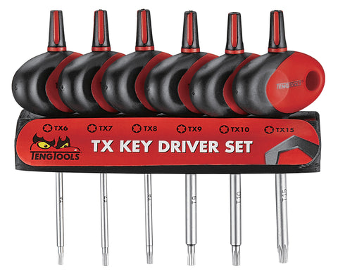 6PC Mini Tx T Handle Set
