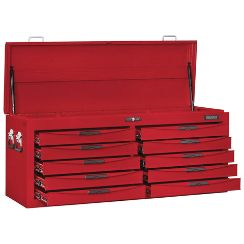 "53"" Wide 10 Drawer 8 Series Top Box With Ball Bearing Slides"