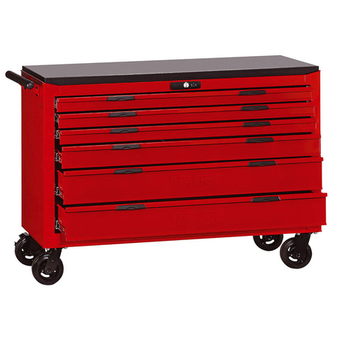 "53"" 6 Drawer 8 Series Roller Cabinet With Ball Bearing Slides"