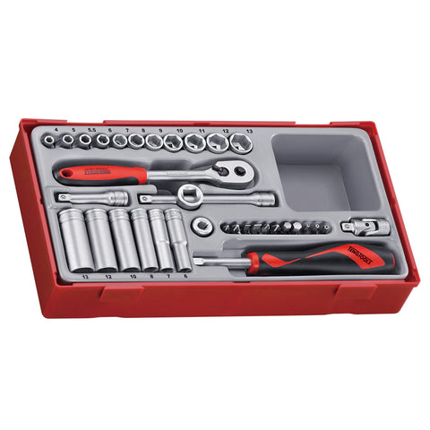 35PC 1/4inch Drive Socket Set