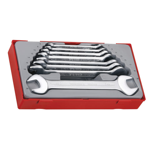 8PC Double Open Ended Spanner Set