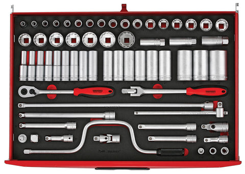 "63PC 1/2"" Drive Socket Set"