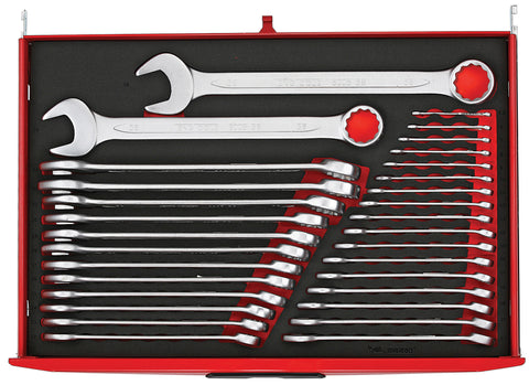 31PC Metric Combination Spanner Set