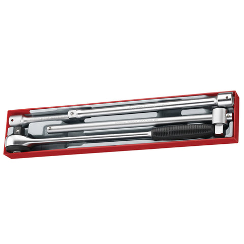 "4PC 3/4"" Drive Ratchet & Accessories"