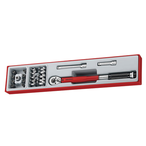 "22PC 3/8"" Drive Torque Wrench Set"