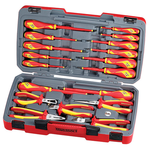 18PC 1,000 Volt Insulated Tool Set