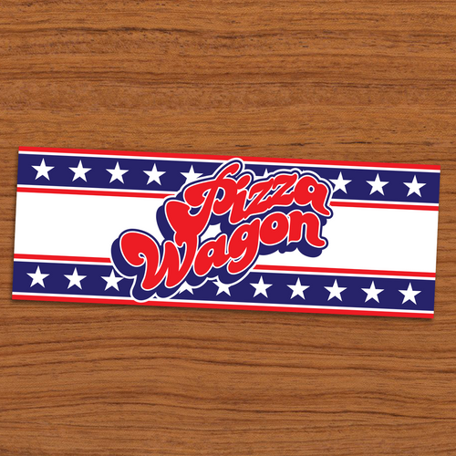Pizza Wagon Stars and Stripes