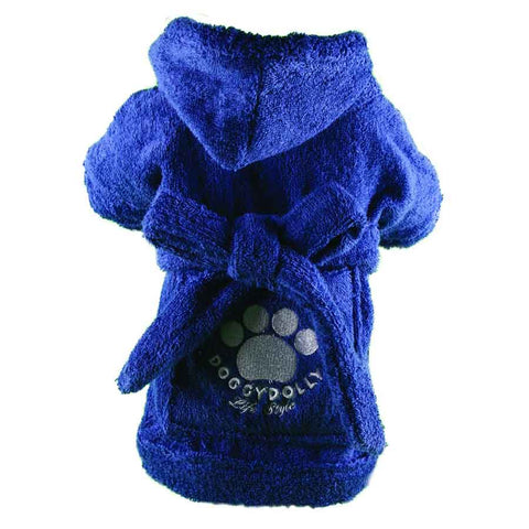 Doggydolly Bademantel - blau