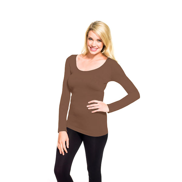 Oprah's Favorite Long Sleeve Scoop