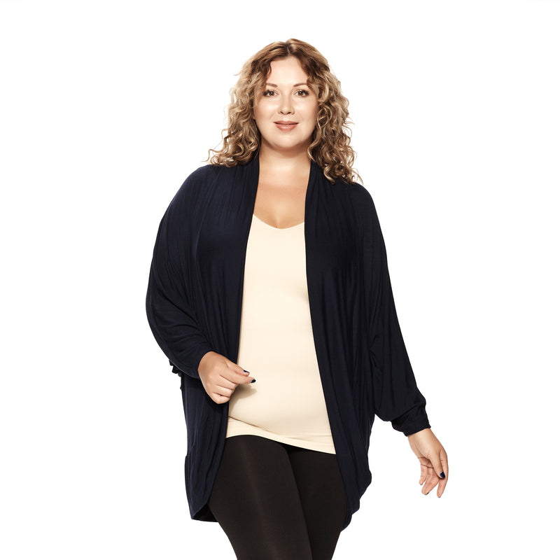 Plus Cocoon Cardigan
