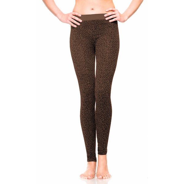 Leopard Small Print Leggings