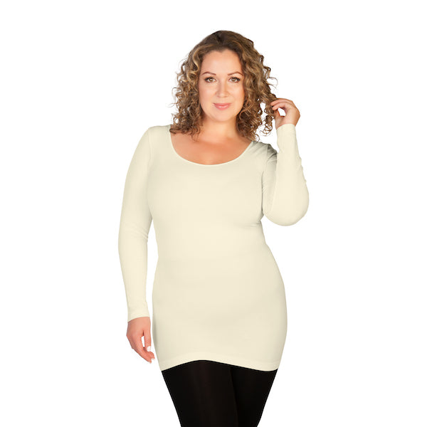 Oprah's Favorite Plus Long Sleeve Scoop