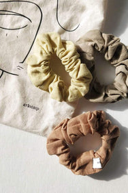 arkitaip Accessories Linen Scrunchie