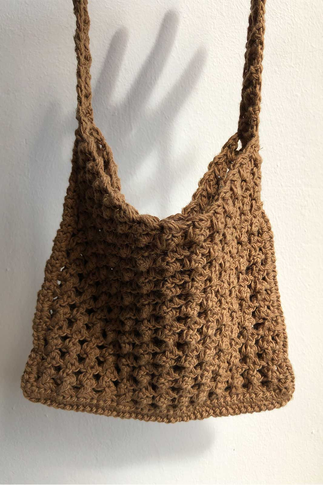 arkitaip Bags Bronze The Paulina Crochet Bag