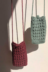 arkitaip Bags The Candela Crochet Phone Case