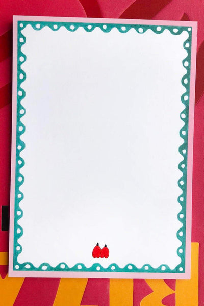 arkitaip Homeware Green/Red arkitaip x Laetitia Rouget Notepad