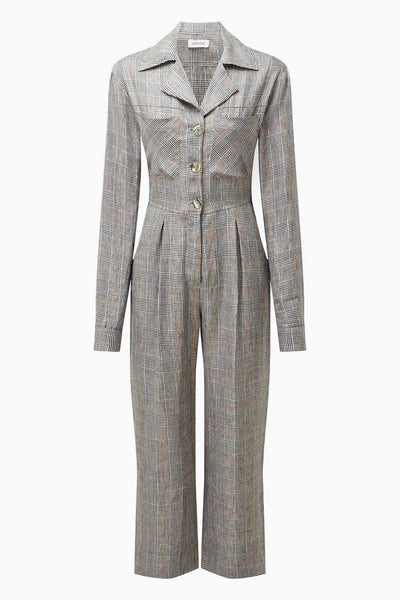 arkitaip Jumpsuits The Serra Boiler Suit in Tartan