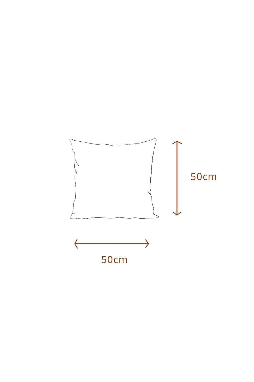 arkitaip Pillowslips 50 x 50cm / White The Ruffled Casita Linen Pillowslips Set in White