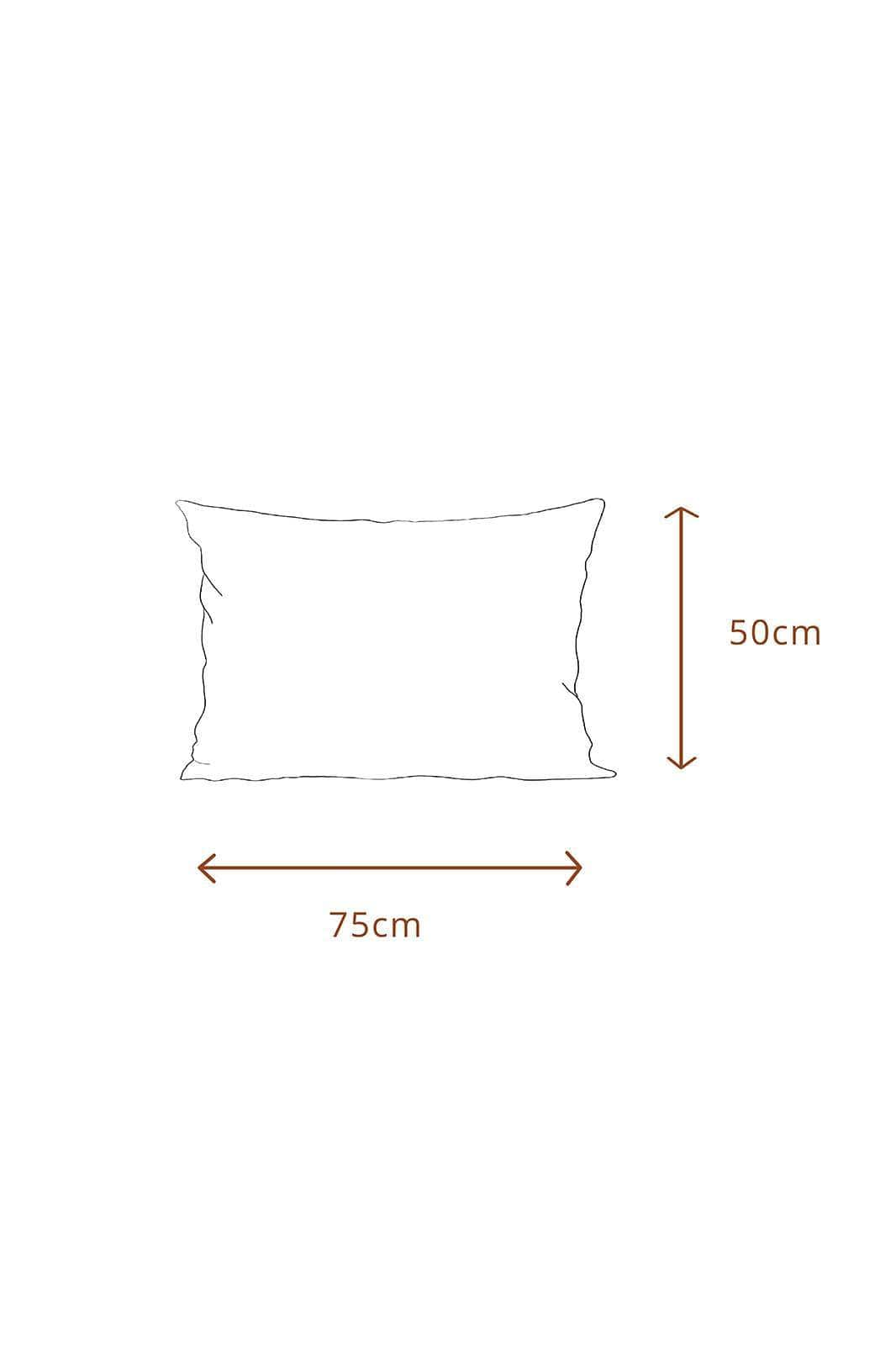 arkitaip Pillowslips 50 x 75cm / White The Ruffled Casita Linen Pillowslips Set in White