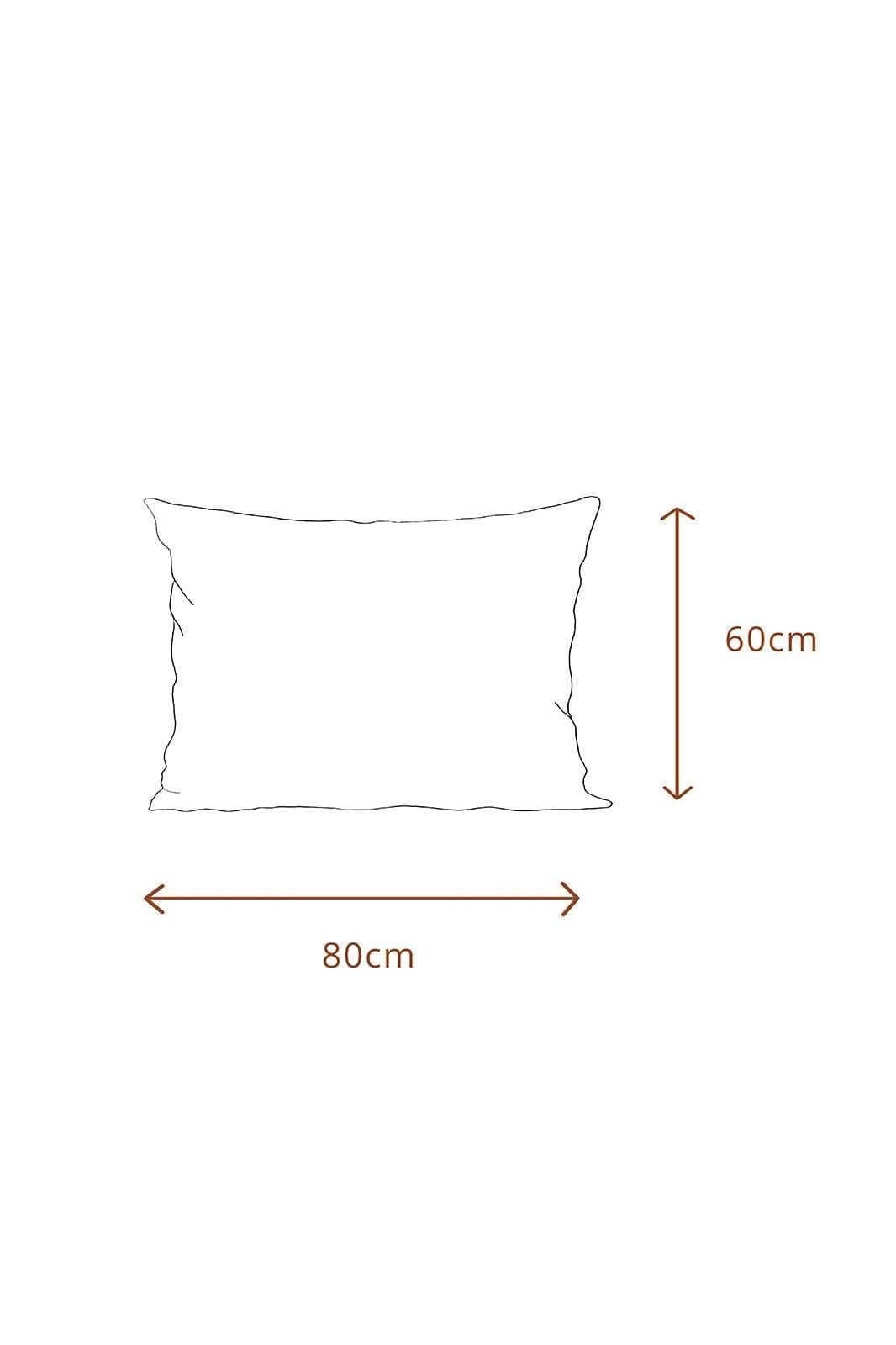 arkitaip Pillowslips 60 x 80cm / White The Ruffled Casita Linen Pillowslips Set in White