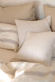 arkitaip Pillowslips Beige / 50 x 50cm The Casita Linen Cushion Set