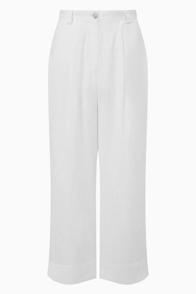 arkitaip Trousers The Wabi Linen Trousers in White