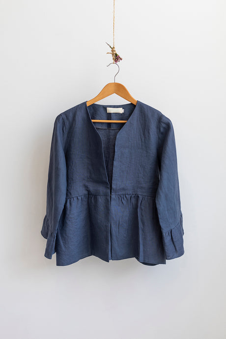 Dahlia Jacket V2 - Denim Blue