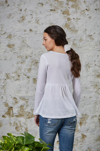 Jonquil Long Sleeve - Pure White