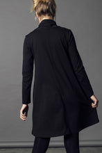 Winter Cherry Skivvy Dress - Black