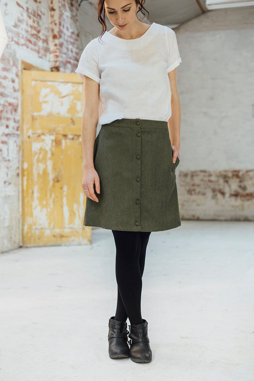 Snapdragon Skirt - Green
