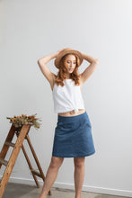 Up-cycled Denim Skirt