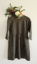 Winter Sweet Dress - Olive