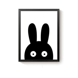 poster black rabbit