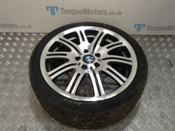2004 BMW E46 M3 19'' Rear alloy wheel & tyre DAMAGED