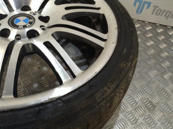 2004 BMW E46 M3 19'' Front alloy wheel & tyre diamond cut