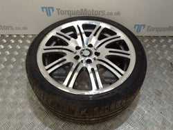 2004 BMW E46 M3 19'' Front alloy wheel with tyre