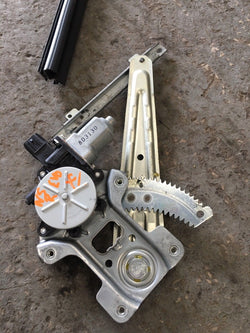 Mitsubishi Evo X Window Motor Regulator Mechanism Near Side Rear Nsr Evo 10