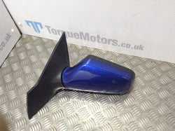 Astra Coupe Mk4 europa Blue Passenger side Electric Wing Mirror