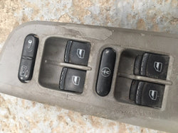 Volkswagen Golf Mk4 1.8T Drivers Side Window Switches With Child Lock Ect
