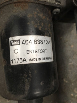 2005 Citroen C4 3 Door Wiper Motor With Linkage Front