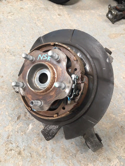 2015 NISSAN GT R35 COMPLETE REAR HUB AND CARRIER LEFT Passenger Side